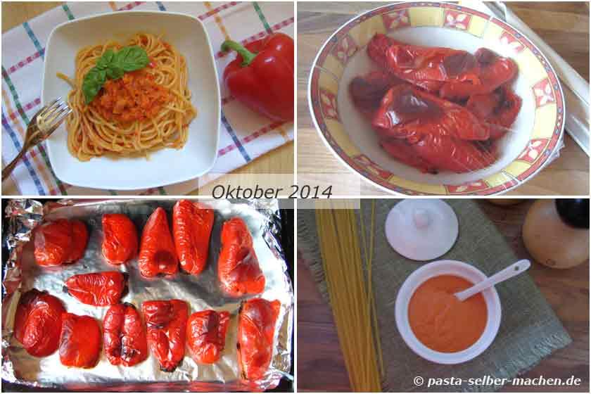Pasta Rezepte mit Paprika