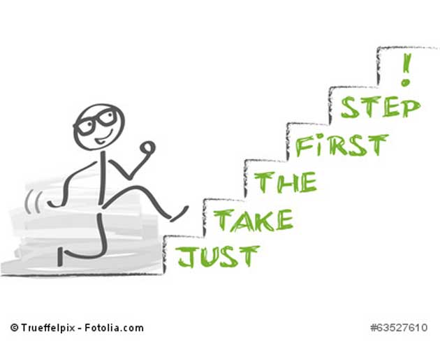 Der erste Schritt zum Erfolg