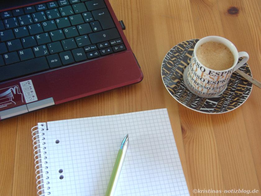 Planung mit PC und analog mit Block und Stift