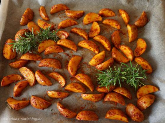 Kartoffel Wedges - Ofenkartoffeln selbst gemacht